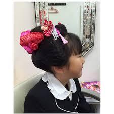 七五三 3歳 Bravissimoブラヴィッシモのヘアスタイル 美容院美容