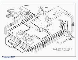 Club car golf cart wiring diagram