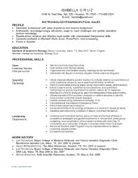 Cover Letter For Resume Biotechnology Tomyumtumweb Com