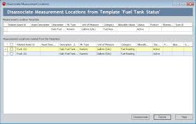 Measurement Window Overview Of The Disassociate Measurement Locations Window