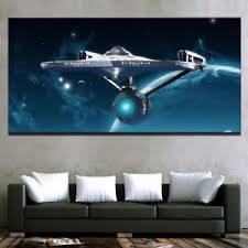 star trek enterprise wall art