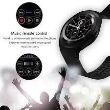 Đồng hồ thông minh Y1 smart watch smartwatch kết nối bluetooth đo nhịp tim  định vị trẻ em nghe gọi camera gps - Đồng Hồ Thông Minh