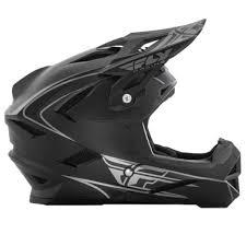 2017 Fly Default Helmet Matte Black