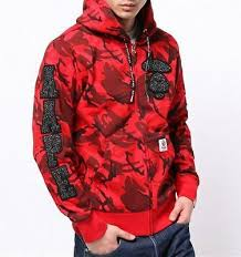 Aape Hoodie Size Chart Aape By A Bathing Ape Aape Cny Zip Up Hoodie Xl Size Red