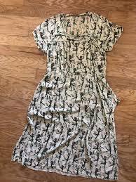 Vintage RARE 1940s Novelty Print Dress Salvador Dali For Wesley Simpson  Textile #Vintage | Vintage black dress, Print dress, Black and pink dress