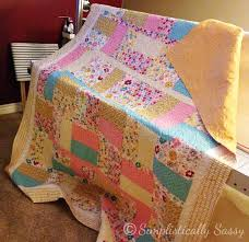 Simple Twin Size Quilt Pattern by Simplistically Sassy &  Adamdwight.com