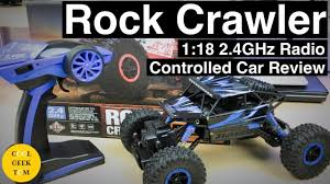 Rock Crawler <b>1:18</b> 2.4GHz <b>Radio Controlled</b> Car Review - YouTube