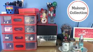 makeup collection updated diy makeup storage ideas
