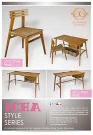 teak retro furniture. Poster-mebel-icha-style-series-minimalist-furniture-jepara-goods-designer- Teak-indonesia-manufacturer Teak Retro Furniture