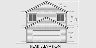 house front drawing elevation view for 10061 two story house plans narrow lot house plans