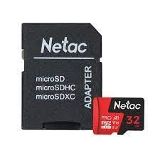 Thẻ Nhớ Netac P500 Pro Microsdhc A1 32gb Class 10 - Micro Sd + Adapter 5.0  chính hãng 134,800đ