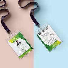 Identity Card Design Id Card Design On Behance