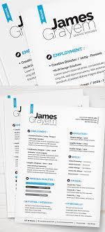 Adobe Resume Template Creative Adobe Indesign Resume Template The Best CV Resume Templates 24