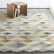 Crate and Barrel Exclusive. Orson Diamond Rug