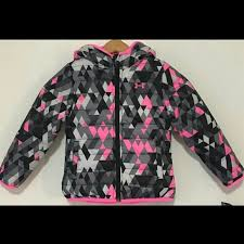 under armour jackets for girls. under armour girls coat fleece reversible jackets for