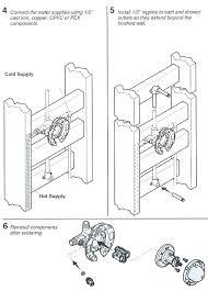 delta shower valve installation changing shower faucets install shower valve installing a rite temp bath shower