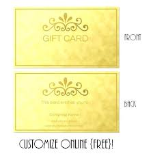 Gift Cards Maker Gift Card Maker Custom Gift Cards For Business New Professional