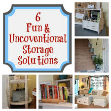 6 fun unconventional storage solutions