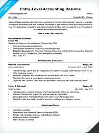 Accounting Resume Samples Accounting Resume Abilities Accounting
