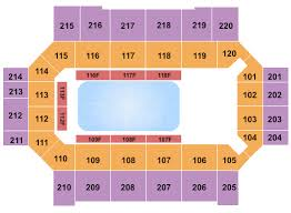 Norris Penrose Event Center Seating Chart Broadmoor World Arena Seating Chart Colorado Springs