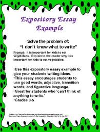 expository essay example why should kids eat vegetables by ms to  expository essay example why should kids eat vegetables