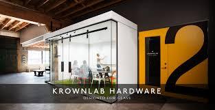 krownlab agnar barn door hardware for glass from modern glass door at contemporary house design