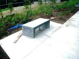 concrete garden bench. Concrete Outdoor Bench Garden Design Benches S