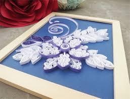 Paper Flower Frame Design Handmade Paper Flower Picture Frame