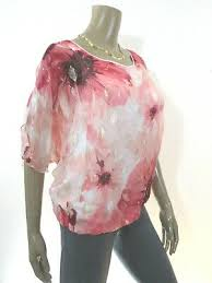 White House Black Market Size X Small Silk Lined Floral Gold Shimmer Shirt Ebay
