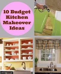 Diy Budget Kitchen Ideas