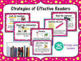 What Good Readers Do Strategies For Effective Readers