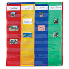 Learning Resources 2 And 4 Column Double Sided Pocket Chart Walmart Com