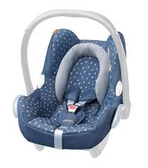 maxi cosi cabriofix seat cover denim hearts co uk baby