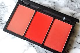 sleek makeup blush by 3 in flame review swatches beauty brains