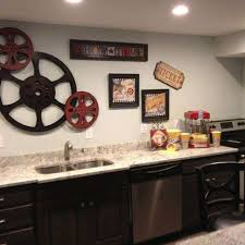 bar wall decor best of theater room snack bar home theater