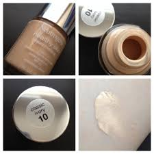 the shade clic ivory 10 is a good match but not a perfect match it warms up on the skin nicely and blends well so that s fine with me