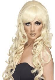 Perücke Popsternchen Blond Blonde Lockige Langhaarperücke Für Damen Sexy Heiße Damenperücke Langhaar Lang Haar