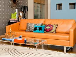 Orange Decorating For Living Room Decorating Living Room With Orange Sofa Best Living Room 2017