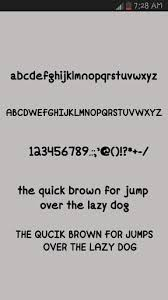 Cute Fonts For Android Cute Fonts Free Installer 0 4 Apk Android 2 2 X Froyo