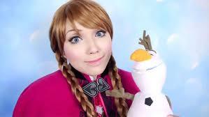 princess makeup tutorial frozen elsa you makeup tutorial diy disney 39 s frozen elsa eyeshadow an