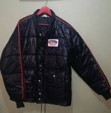 Vintage Rare Wynn's Official Racing Jacket Quilted Puffer ... & Image is loading Vintage-Rare-Wynn-039-s-Official-Racing-Jacket- Adamdwight.com