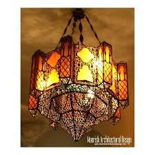 moroccan ceiling fan shade chandelier fitting tea lantern elk lighting yellow bathroom chandeliers drum rustic plug