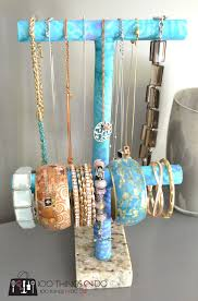 Diy Jewelry Holder Diy Jewelry Holder Pvc Pipe Project 100 Things 2 Do