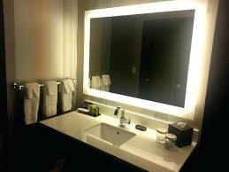 Wall Mirrors Illuminated Wall Mirrors For Bathroom Amusing