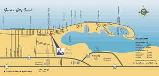 garden city beach sc. Click To View Larger Map Garden City Beach Sc