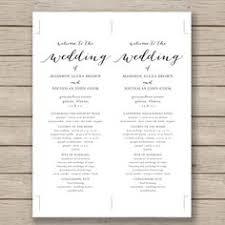 Free Printable Wedding Ceremony Programs 35 Best Printable Wedding Programs Images Printable Wedding