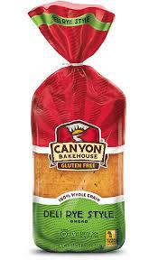 Gluten Free Deli Rye Style Bread Wheat Free Rye Bread