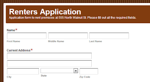 Renters Application Template How To Use Formstack To Build A Renters Application Formstack Blog