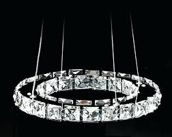 hot diamond ring led crystal chandelier light modern lamp 1 circles guarantee pendant and lighting st