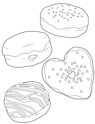 Small Picture Donut coloring pages 6 Nice Coloring Pages for Kids